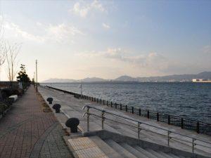 神戸空港 親水護岸