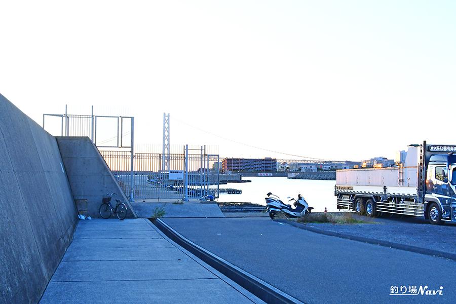 垂水漁港|大波止