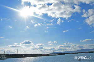 垂水漁港 中波止